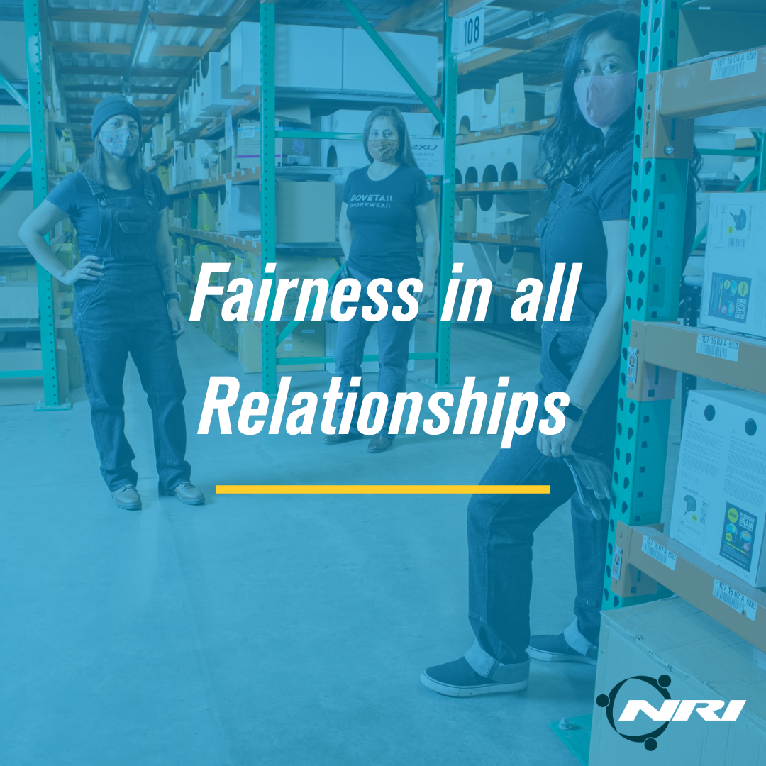 NRI Core Values Fairness in All Relationships