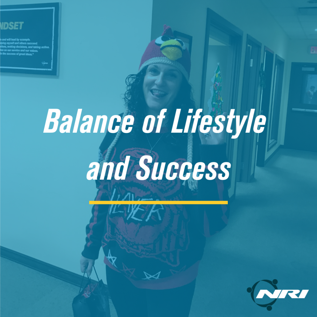 NRI Core Value Balance of Lifestyle and Success