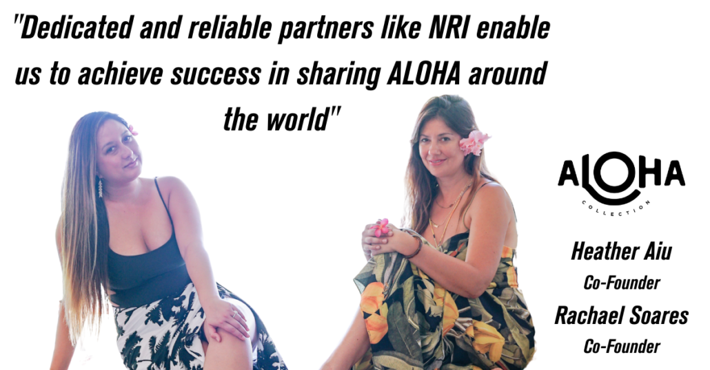 Aloha Collection Heather and Rachael NRI Better Together