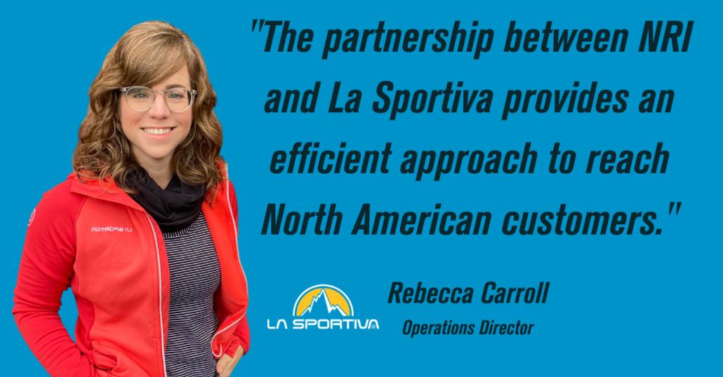La Sportiva Rebecca Carroll NRI Better Together